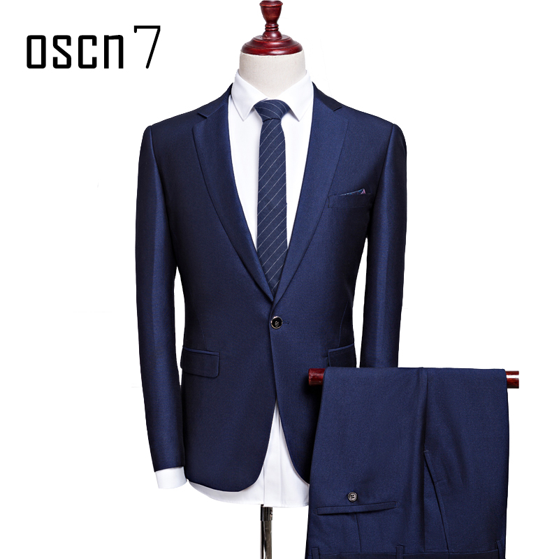 OSCN7-2-Pcs-Dark-Blue-Suit-Men-Slim-Fit-Main