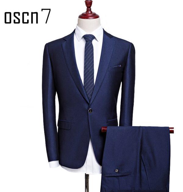 OSCN7-2-Pcs-Dark-Blue-Suit-Men-Slim-Fit-Main